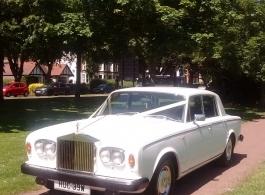 1981 Rolls royce Silver Shadow for weddings in Brentwood